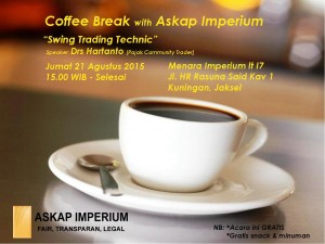 coffee Break 21 Agsutus 2015