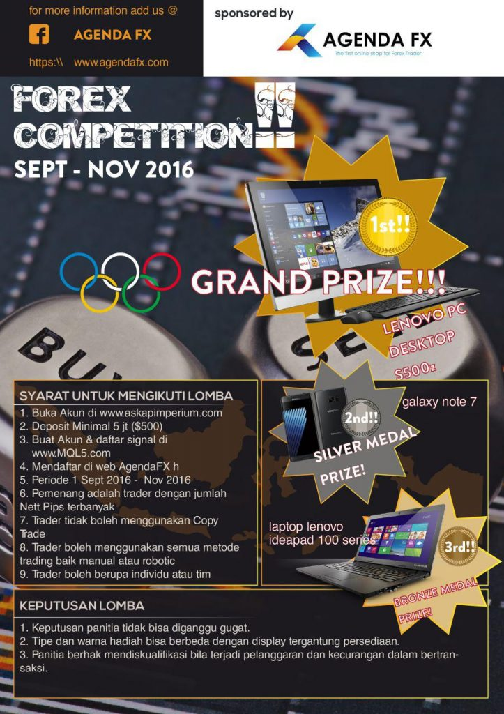 agendafx - forex competition 2016