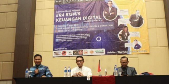 Reza Aswin: Trading Forex Bisnis Digital Bukan Investasi